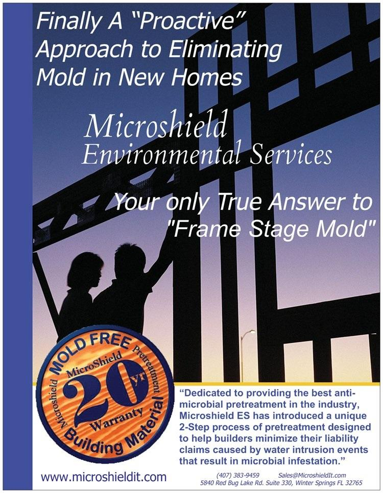 Microshield Mold Pretreatment, Frame Stage Mold, Truss Mold